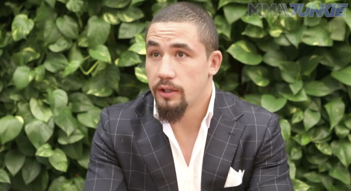 Robert Whittaker interview UFC