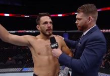 Jake Ellenberger final UFC fight