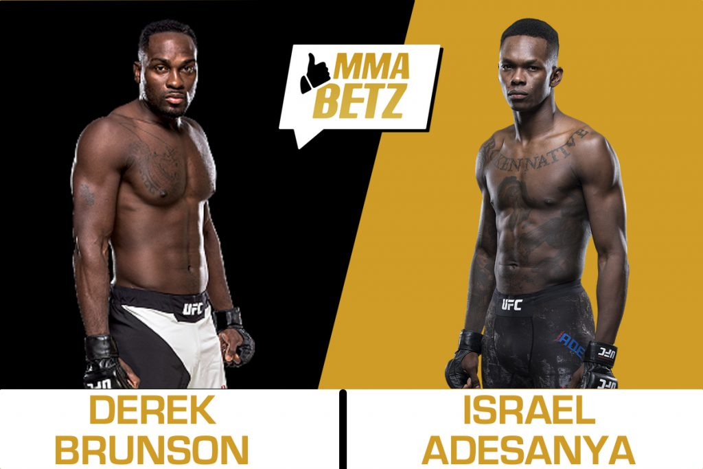 Brunson against Adesanya UFC 230