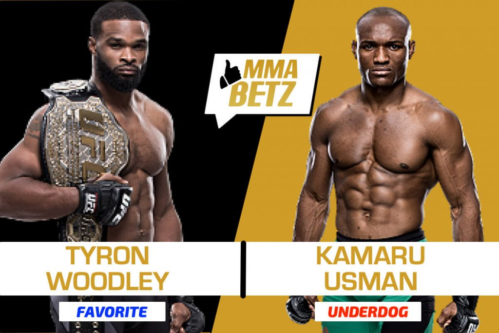 Tyron Woodley vs Kamaru Usman co-main event UFC 235