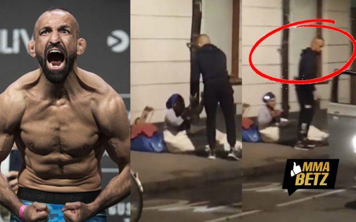 Reza Madadi in Stockholm Streets helping homeless people