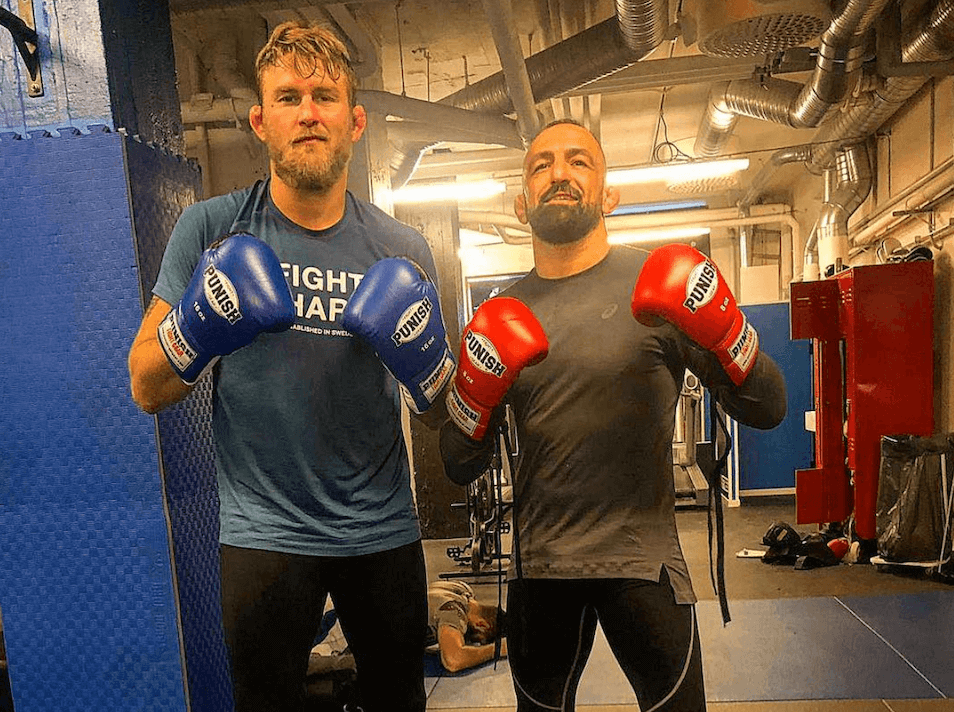 Alexander The Mauler Gustafsson and Reza Maddog Madadi