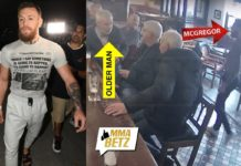 McGregor hits elderly man over dispute