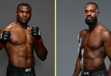 UFC Francis Ngannou and Jon Jones