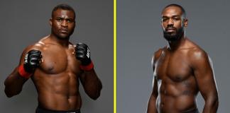 UFC, Francis Ngannou, Jon Jones
