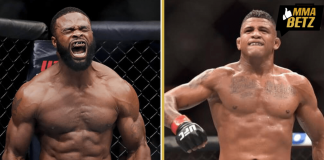 UFC Tyron Woodley vs Gilbert Burns