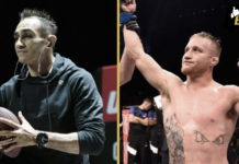UFC 249 Tony Ferguson and Justin Gaethje