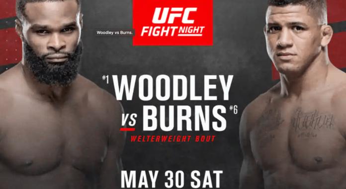 UFC Vegas Tyron Woodley vs Gilbert Burns