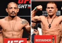UFC 251 Jose Aldo and Petr Yan