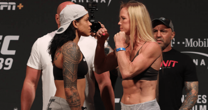 UFC 239 Amanda Nunes vs Holly Holm