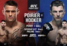 UFC Vegas 4 Poirier vs Hooker