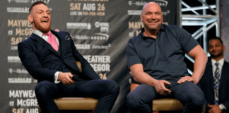 UFC Conor McGregor and Dana White