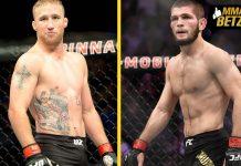 UFC Khabib Nurmagomedov vs Justin Gaethje