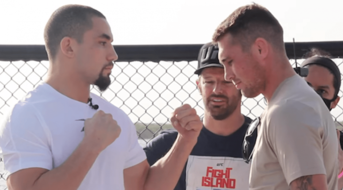 UFC Fight Island 3 Robert Whittaker vs Darren Till