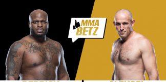 UFC Derrick Lewis vs Aleksei Oleinik
