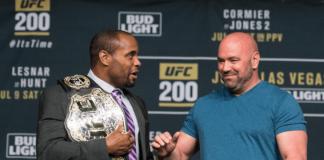 UFC 200 Daniel Cormier and Dana White