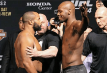 UFC 214 Daniel Cormier vs Jon Jones
