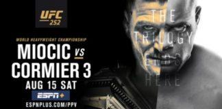 UFC 252 Stipe Miocic vs Daniel Cormier