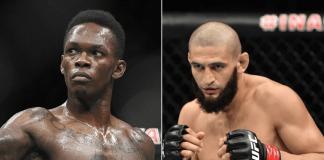 UFC Israel Adesanya and Khamzat Chimaev