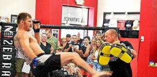 UFC Stipe Miocic and Marcus Marinelli