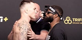UFC Vegas 11 results Covington vs Woodley