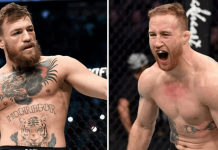 UFC Conor McGregor and Justin Gaethje