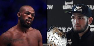 UFC Jon Jones and Khabib Nurmagomedov