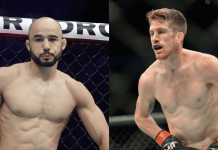 UFC Marlon Moraes and Cory Sandhagen