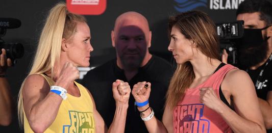 UFC Fight Island 4 Holm vs Aldana