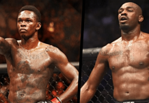 UFC Israel Adesanya and Jon Jones