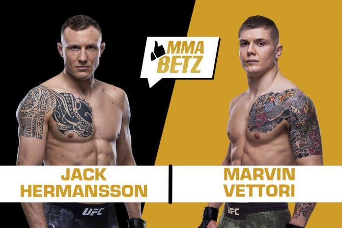 UFC Jack Hermansson vs Marvin Vettori