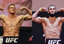 UFC, Stephen Thompson, Khamzat Chimaev