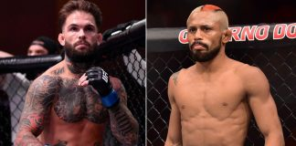 UFC Cody Garbrandt and Deiveson Figueiredo