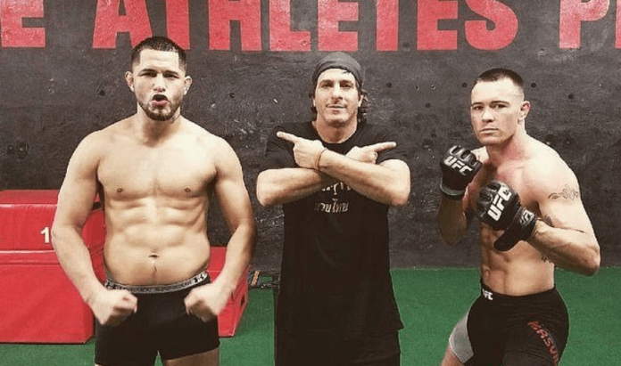 UFC Jorge Masvidal and Colby Covington