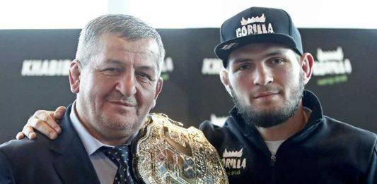 UFC Khabib and Abdulmanap Nurmagomedov