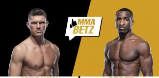 UFC Stephen Thompson vs Geoff Neal