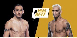 UFC Tony Ferguson vs Charles Oliveira