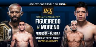 UFC 256 results
