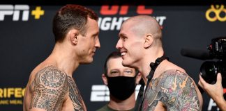 UFC Vegas 16: Hermansson vs Vettori