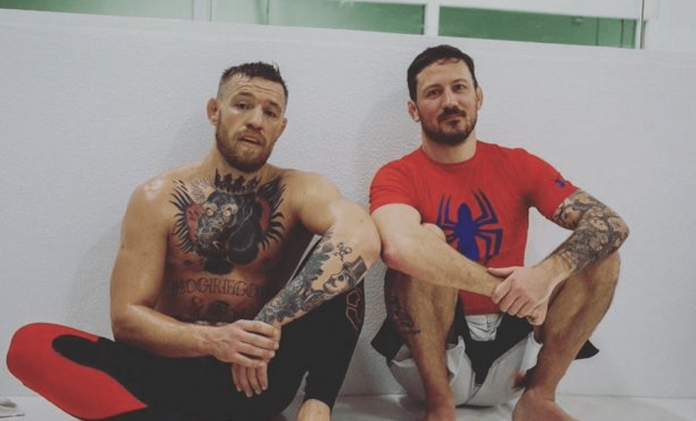 UFC Conor McGregor and John Kavanagh
