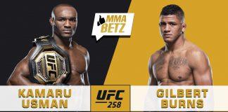 UFC 258 Kamaru Usman vs Gilbert Burns