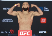 UFC Fight Island 3, Khamzat Chimaev