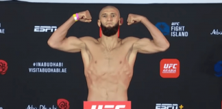 UFC Fight Island 3 Khamzat Chimaev