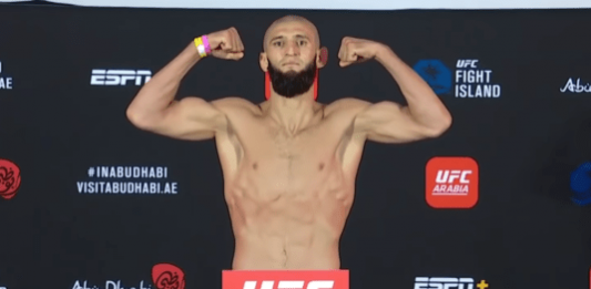 UFC Fight Island 3 Khamzat Chimaev