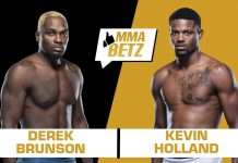 UFC Vegas 22, Derek Brunson vs Kevin Holland