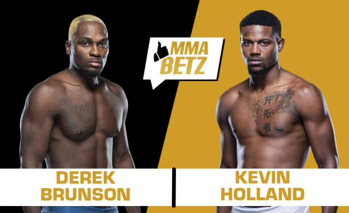 UFC Vegas 22, Derek Brunson vs Kevin Holland
