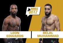UFC Vegas 21, Leon Edwards vs Belal Muhammad