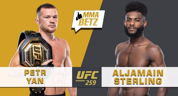 UFC 259 Petr Yan vs Aljamain Sterling