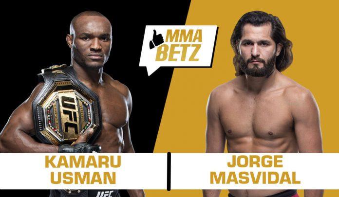 UFC 261: Kamaru Usman vs Jorge Masvidal