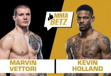 UFC Vegas 23: Marvin Vettori vs Kevin Holland